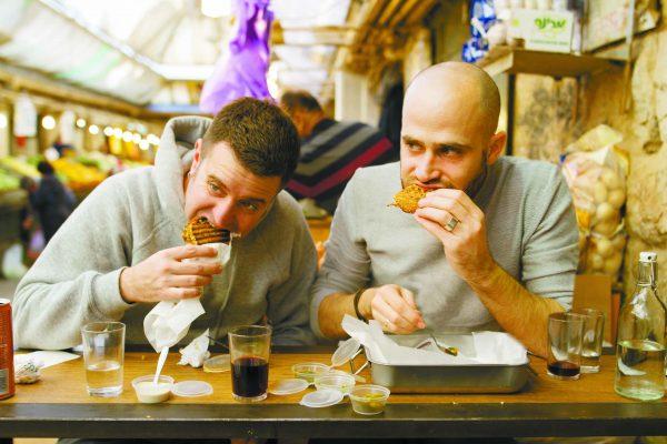 עמית ויהונתן במסעדת ארגנטו בירושלים (צילומים: אסף קרלה)