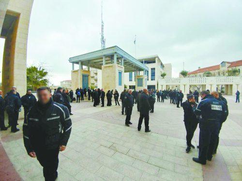 עיצומים עובדי הפיקוח העירוני בעיריית ירושלים