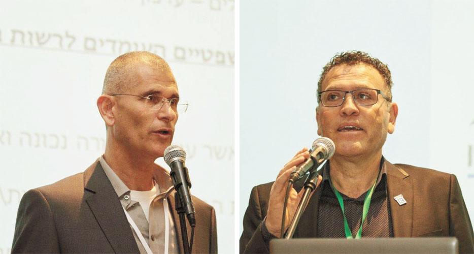 מימין איציק לוי משמאל אסף אפשטיין צילומים יחצ
