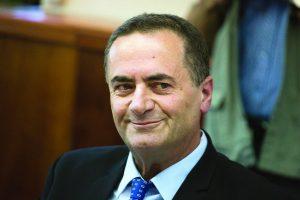 שר התחבורה ישראל כץ (צילום: הדס פרוש, פלאש 90)