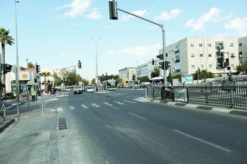 רחוב דרך חברון. (צילום: אורן בן-חקון)