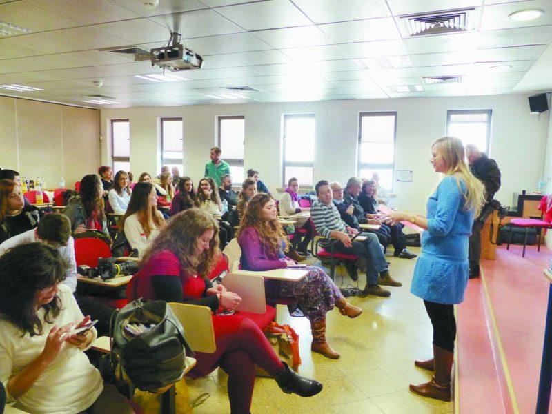 כנס תוכנית לעולים חדשים במכללת הדסה. צילום: מכללת הדסה ירושלים