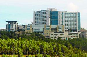 המרכז הרפואי הדסה עין כרם בירושלים (צילום: אבי חיון)