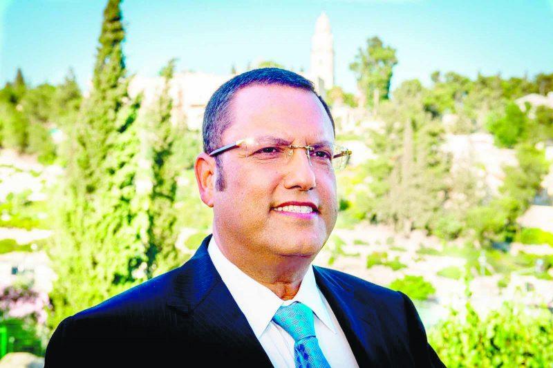 """""""יש לי את כל הכישורים הראויים לשמש כראש העיר ירושלים"""""""