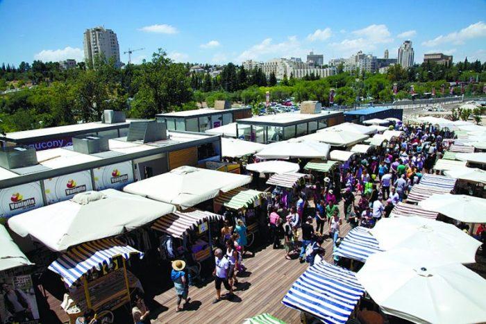 מתחם התחנה בירושלים (צילום: דודי סעד)