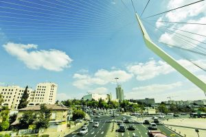 גשר המיתרים בירושלים (צילום: אורן בן-חקון)
