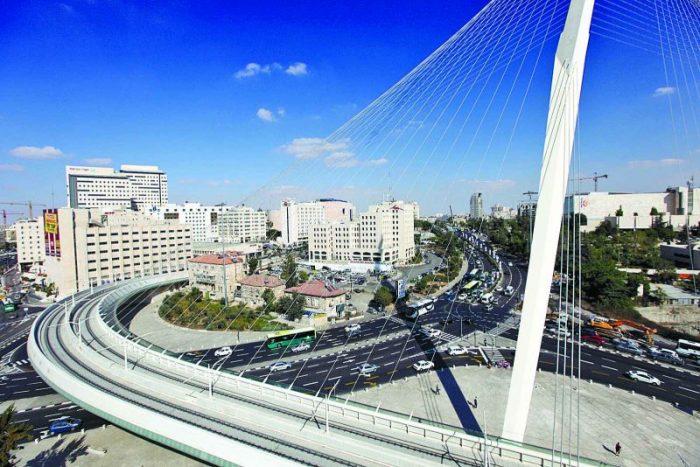 גשר המיתרים בירושלים. צילום: אורן בן-חקון