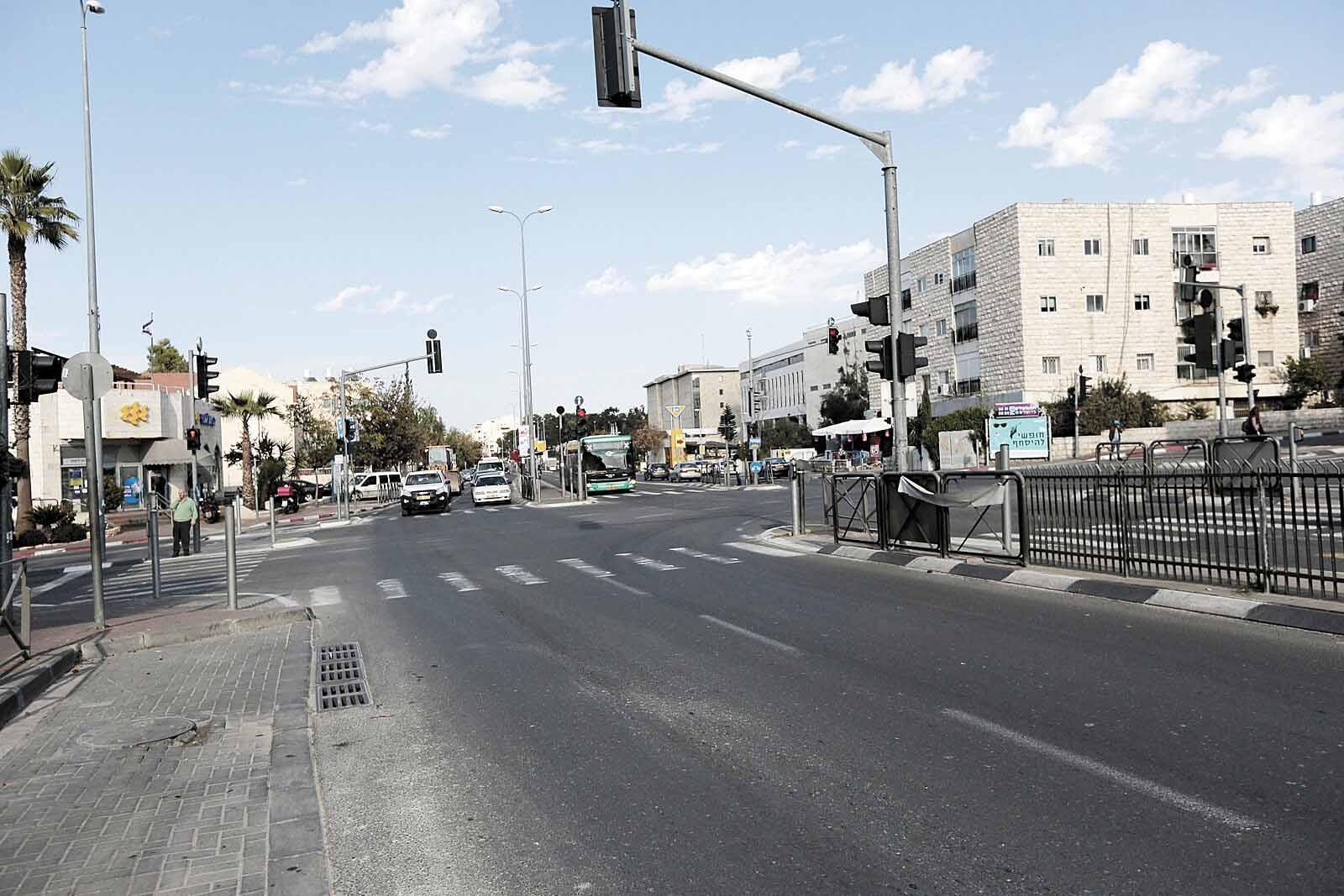 רחוב דרך חברון (צילום: אורן בן-חקון)