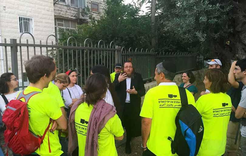 הרצאה של שמואל פפנהיים באירועי סובלנות ביום ירושלים (צילום: המרכז הבין תרבותי)