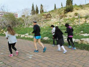 """קבוצת ילדי בית החולים אלי""""ן בירושלים (צילום: יח""""צ)"""