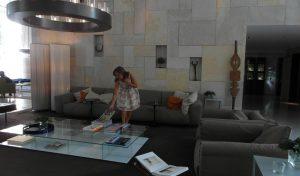 סיגל קליין במלון ממילא (צילום: נועם קליין)