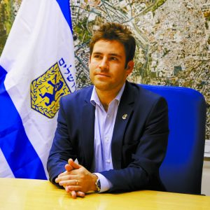 סגן ראש העיר עופר ברקוביץ' (צילום: שרון גבאי)