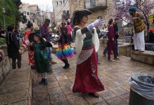 פורים בירושלים (צילום: לאון לואי בלנקליידר)