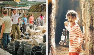 פעילות לכל המשפחה בעיר דוד (צילומים: אליהו ינאי, יונית שילר - באדיבות ארכיון עיר דוד)