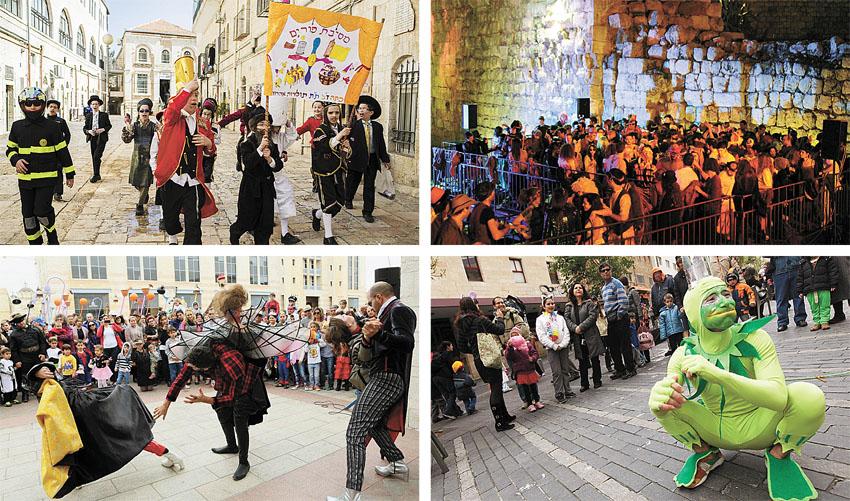 רוקדים כל היום וכל הלילה: מסיבות פורים ברחבי ירושלים