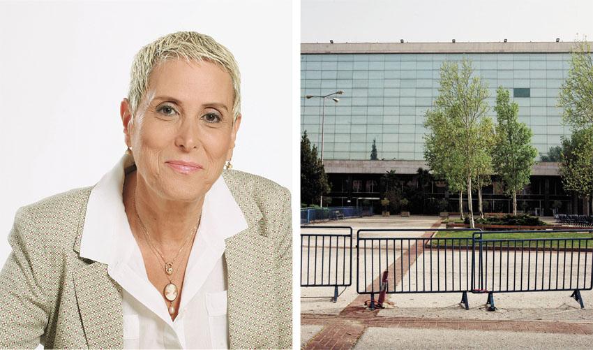 """מירה אלטמן, מנכ""""לית בנייני האומה בירושלים (צילומים: מאיה לוין - ג'ני - יח""""צ)"""
