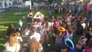 אירוע פתיחת שנה לילדי ירושלים בגן העצמאות בארגון ירו-שלם ובשיתוף קפה עלמה (צילום: באדיבות קואליציית ירו-שלם)