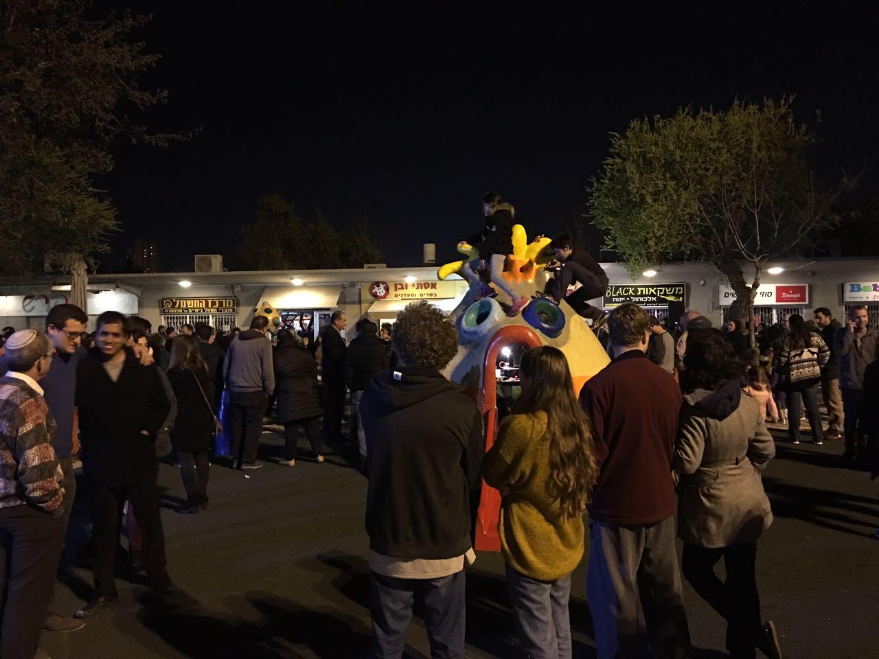 אירוע תמיכה פאב המפלצת (צילום סיעת מרצ)
