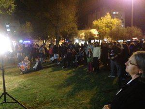 אירוע תמיכה נגד סגירת פאב המפלצת (צילום: סיעת מרצ)