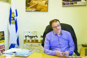 המשנה לראש העיר דב קלמנוביץ' (צילום: נעה קסטל)