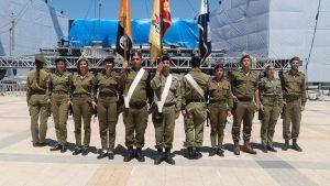 """13 הדגלנים הירושלמים (צילום: דובר צה""""ל)"""