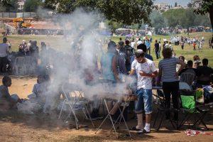 חגיגות יום העצמאות בגן סאקר (צילום: אמיל סלמן)