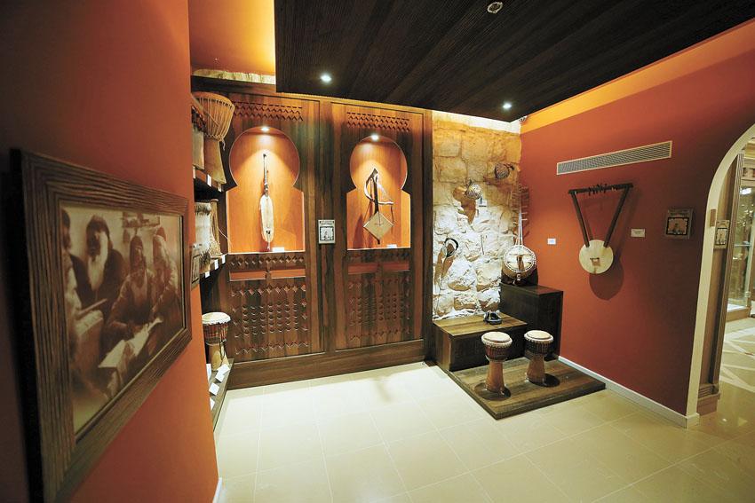 """מוזיאון המוסיקה העברי-החלל האפריקאי (צילום: יח""""צ)"""