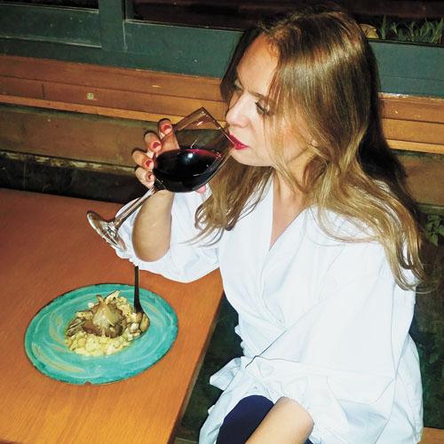 סיגל קליין, מסעדת אל דנטה (צילום: אבי קליין)