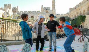 פסח 2017 במוזיאון מגדל דוד (צילום: ריקי רחמן)
