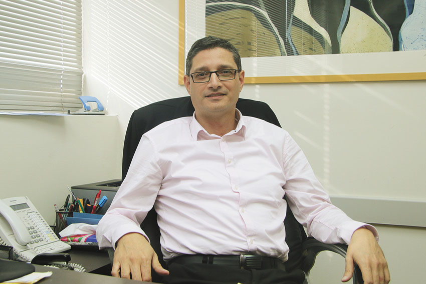 """גולן טובי, מנכ""""ל מט""""י מרכז טיפוח יזמות (צילום: פול סגל)"""