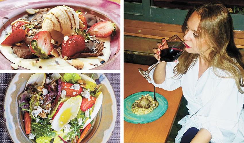 """סיגל קליין, מסעדת אל דנטה (צילומים: אבי קליין, איתן וקסמן, יח""""צ)"""
