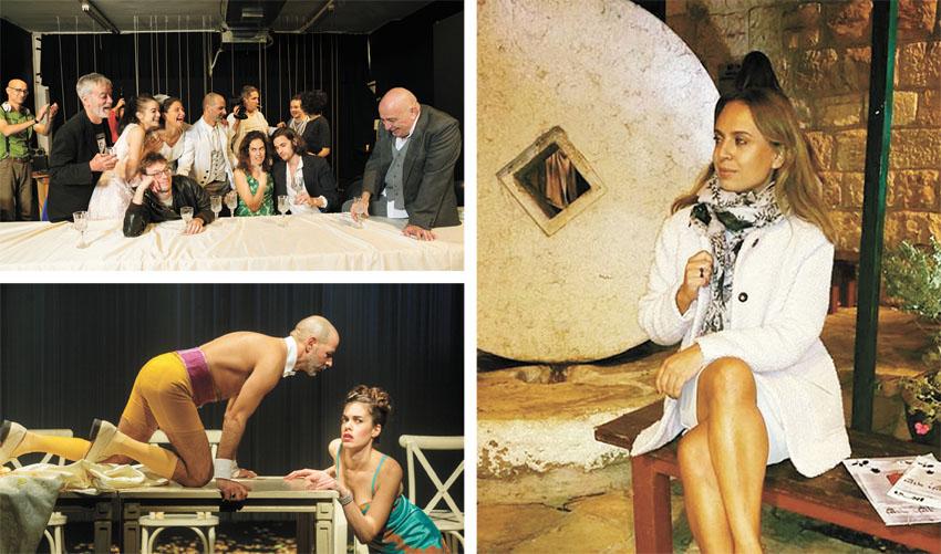"""סיגל קליין, המחזה """"חלום ליל קיץ"""" (צילומים: אבי קליין, יעל אילן)"""