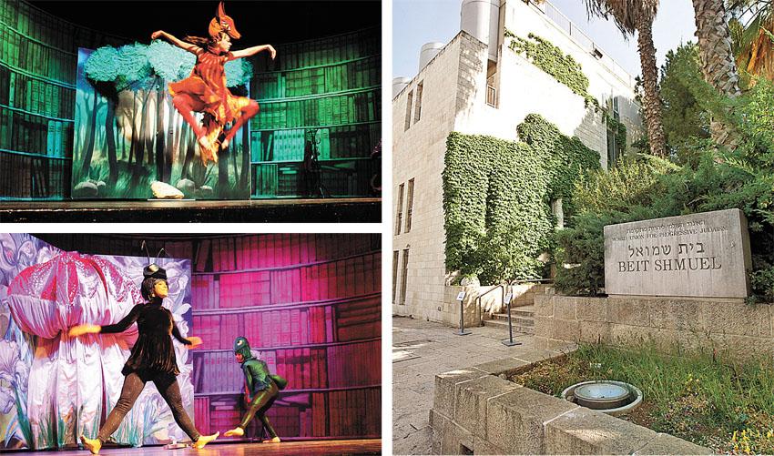 """בית שמואל, מתוך המופע 'מי לקח את הגבינה שלי?' (צילומים מגד גוזני, יח""""צ)"""