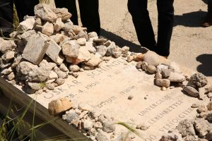"קבר אוסקר שינדלר (צילום: יח""צ)"