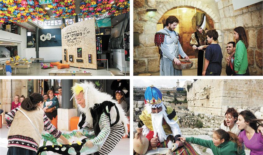 מגדל דוד, הרובע היהודי, יום העצמאות במוזיאון המדע (צילומים: אלקנה שטיינמיץ, עידו כהן, יעל אילן)