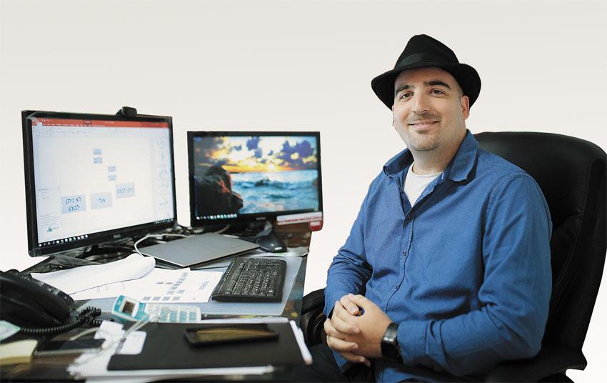 אבי אורן, הבעלים של חברת מגה צ'יפ מחשבים (צילום: אורן בן־חקון)