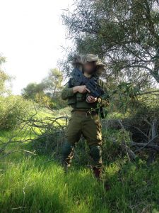 """סמל פ', לוחם מוסלמי (צילום: דובר צה""""ל)"""