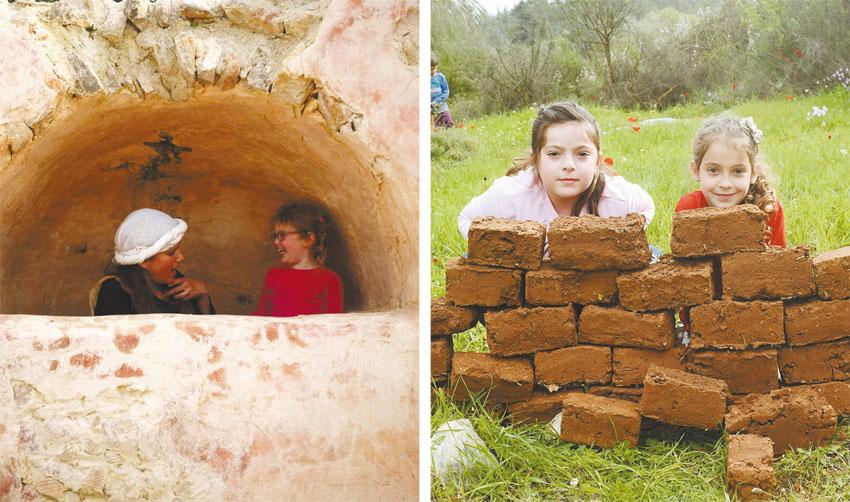 פעילות לכל המשפחה בנאות קדומים (צילומים חסן עליאן)