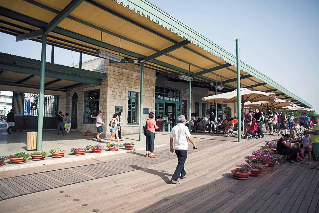 מתחם התחנה הראשונה בירושלים (צילום: שירן גרנות)