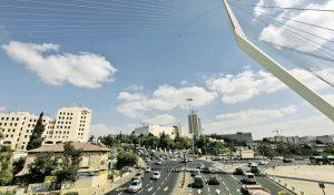 גשר המיתרים, ירושלים כללי. צילום: אורן בן-חקון