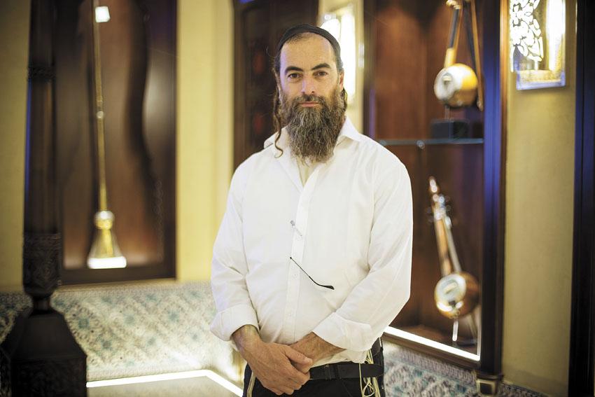 אלדד לוי, מנהל ובעל חזון הקמת מוזיאון המוסיקה העברי בירושלים (צילום: ליאור לינר)