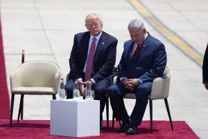 ביקור טראמפ בישראל (צילום: תומר אפלבאום)