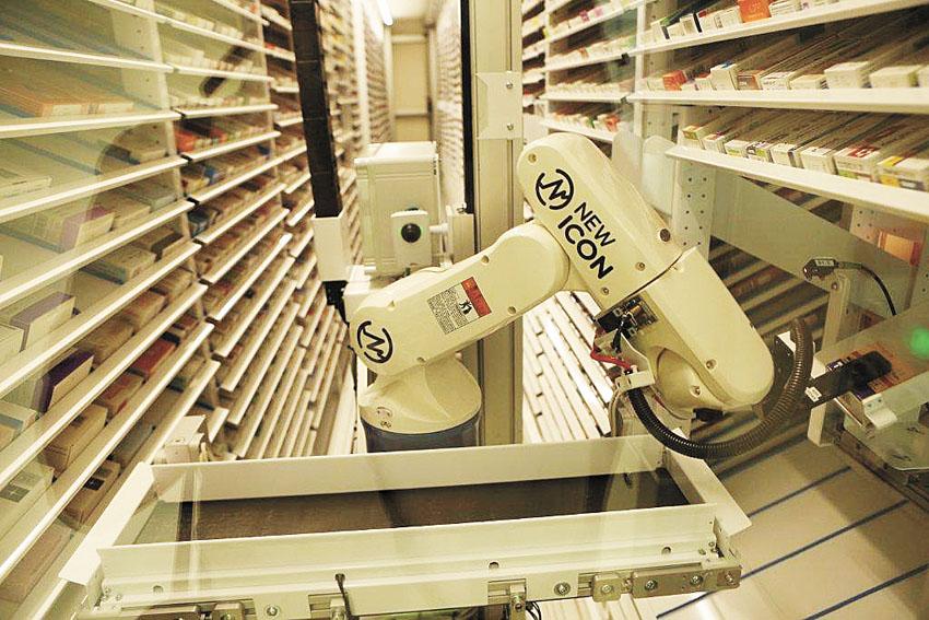 בית מרקחת רובוטי, מאוחדת (צילום: באדיבות מאוחדת)