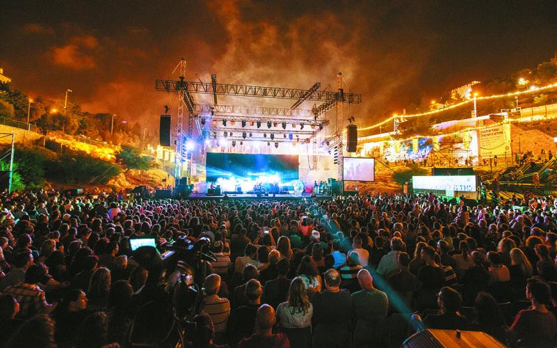 פסטיבל ישראל לקולנוע בבריכת הסולטן (צילום: סוכנות הצילום שמואל כהן)