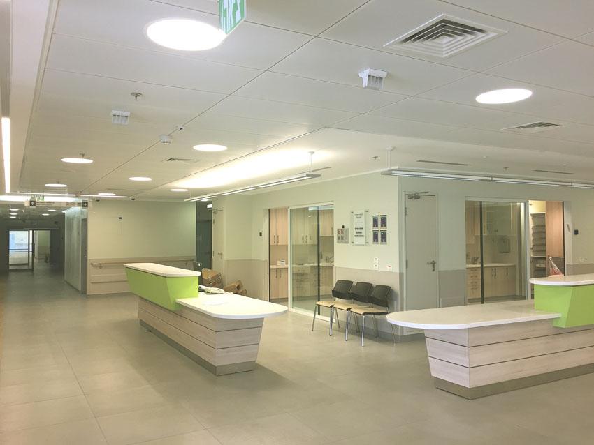 אגף אשפוז חדש במרכז הרפואי הרצוג (צילום: המרכז הרפואי הרצוג)