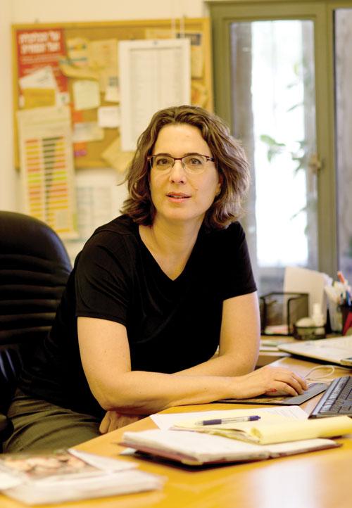 ורד ליון-ירושלמי, בעלת משרד ליעוץ תקשורתי ויחסי ציבור (צילום: דנה בר סימן טוב)