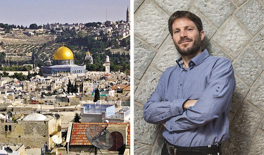 """ח""""כ בצלאל סמוטריץ', מזרח ירושלים (צילום: תומר אפלבאום)"""