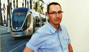 ירון רביד, מנכל סיטיפס, הרכבת הקלה (צילום: סיטיפס)