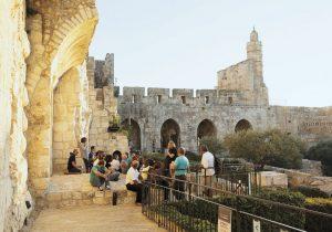 מוזיאון מגדל דוד (צילום: עודד אנטמן)