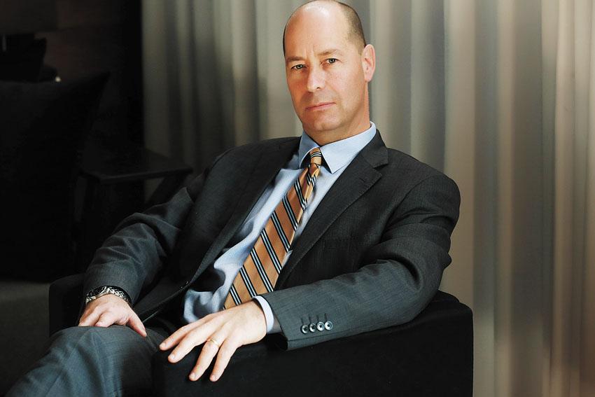"""שרון גוברין, מנכ""""ל מלון ממילא (צילום: גולן קריאו)"""